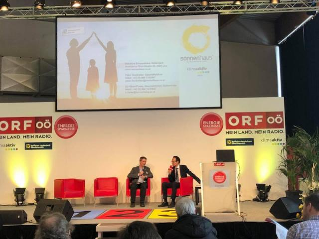 Sonnenhaus ORF Buehne Messe Wels
